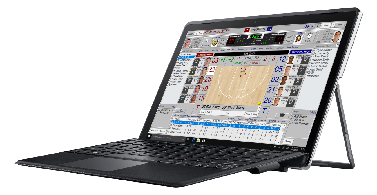 Basketball Stats, Metrics, Video Software App - TurboStats