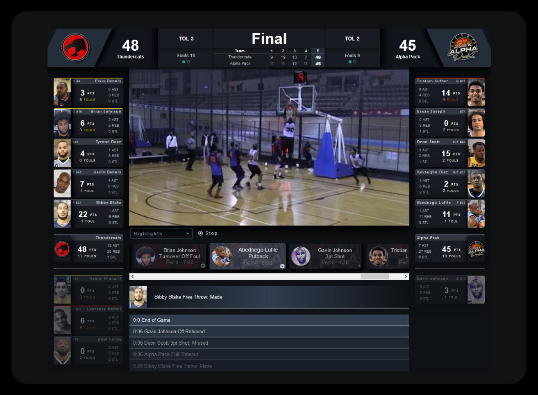 Basketball Stats, Metrics, Video Software App - TurboStats Software